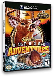 Cabela's Outdoor Adventures GameCube cover (GOAE52)