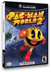 Pac-Man World 2 GameCube cover (GP2EAF)