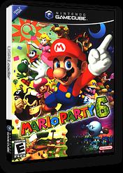 Mario Party 6 GameCube cover (GP6E01)