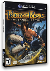 Prince of Persia: The Sands of Time GameCube cover (GPTE41)