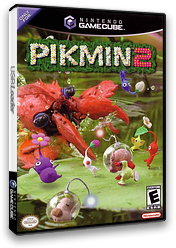 Pikmin 2 GameCube cover (GPVE01)