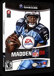 Madden NFL 08 GameCube cover (GQ8E69)