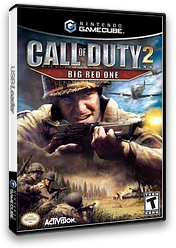 Call of Duty 2: Big Red One GameCube cover (GQCE52)