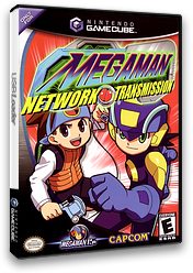 Mega Man Network Transmission GameCube cover (GREE08)