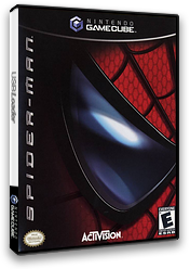 Spider-Man: The Movie GameCube cover (GSME52)