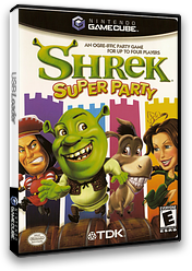 Shrek: Super Party GameCube cover (GSYE6S)