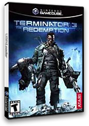 Terminator 3: The Redemption GameCube cover (GT6E70)