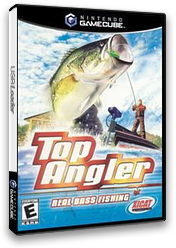 Top Angler : Real Bass Fishing GameCube cover (GTAE5S)