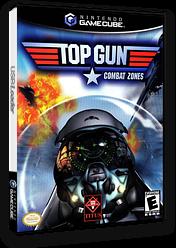 Top Gun: Combat Zones GameCube cover (GTGE60)