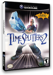 TimeSplitters 2 GameCube cover (GTSE4F)
