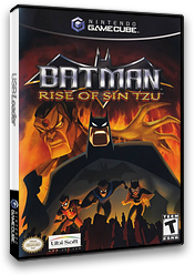 Batman: Rise of Sin Tzu GameCube cover (GUZE41)