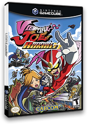 Viewtiful Joe: Red Hot Rumble GameCube cover (GVCE08)