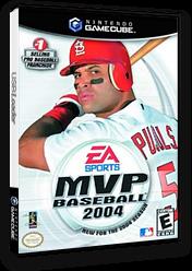 MVP Baseball 2004 GameCube cover (GVPE69)