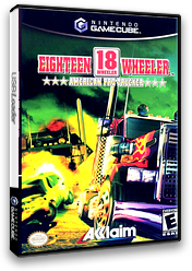 18 Wheeler: American Pro Trucker GameCube cover (GWEE51)