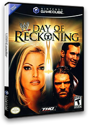 WWE Day of Reckoning GameCube cover (GWPE78)
