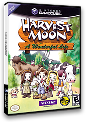 Harvest Moon: A Wonderful Life GameCube cover (GYWEE9)