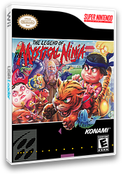 The Legend of The Mystical Ninja VC-SNES cover (JAZE)