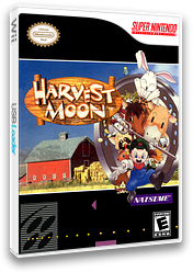 Harvest Moon VC-SNES cover (JB3E)
