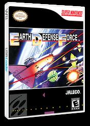 Super E.D.F. Earth Defense Force VC-SNES cover (JD3E)