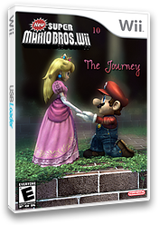 New Super Mario Bros. Wii 10 The Journey CUSTOM cover (JOUE01)