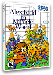 Alex Kidd in Miracle World VC-SMS cover (LAEE)