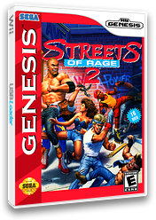 Streets of Rage 2 VC-MD cover (MA6E)