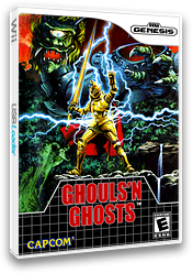 Ghouls'n Ghosts VC-MD cover (MBJE)