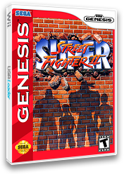 Super Street Fighter II: The New Challengers VC-MD cover (MC3E)