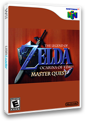 The Legend of Zelda: Ocarina of Time Master Quest VC-N64 cover (NEEA)