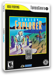 Dungeon Explorer VC-PCE cover (PACE)