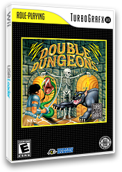 Double Dungeons VC-PCE cover (PBDE)