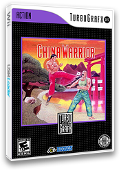 China Warrior VC-PCE cover (PBTE)