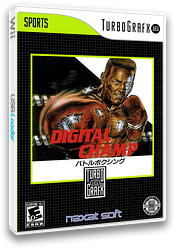 Digital Champ Battle Boxing VC-PCE cover (PCSN)
