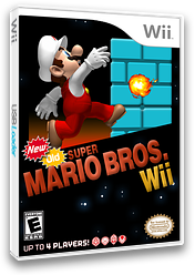 New Old Super Mario Bros. Wii CUSTOM cover (PMNEO1)