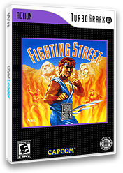 Fighting Street VC-PCE cover (QBBE)