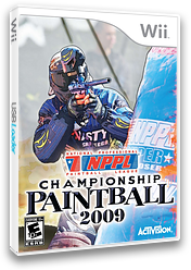 NPPL Championship Paintball 2009 Wii cover (R29E52)