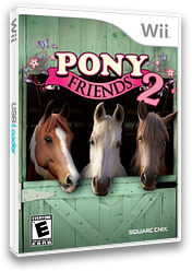 Pony Friends 2 Wii cover (R2RE4F)