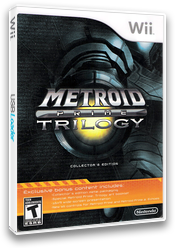 Metroid Prime: Trilogy Wii cover (R3ME01)