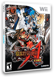 Guilty Gear XX Accent Core Plus Wii cover (R3NEXS)