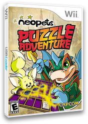 Neopets Puzzle Adventure Wii cover (R52E08)