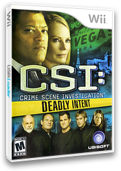 CSI: Deadly Intent Wii cover (R5UE41)