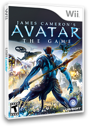 James Cameron's Avatar: The Game Wii cover (R5VE41)