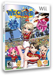 We Cheer 2 Wii cover (R6CEAF)