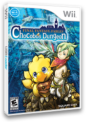 Final Fantasy Fables: Chocobo's Dungeon Wii cover (R7FEGD)