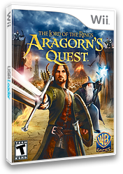 The Lord of the Rings: Aragorn's Quest Wii cover (R8JEWR)
