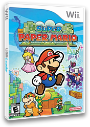 Super Paper Mario(CN) Wii cover (R8PC01)