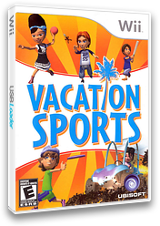 Vacation Sports Wii cover (R8SE41)