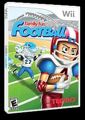 Family Fun Football Wii cover (R97E9B)
