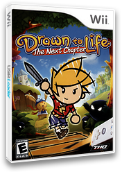 Drawn to Life: The Next Chapter Wii cover (R9DE78)