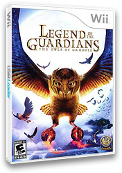 Legend of the Guardians: The Owls of Ga'Hoole Wii cover (R9GEWR)
